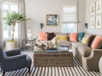Paris-Based Designer Kathryn Ivey Adds Flair To Homes throughout 10+ Inspiration For Blue And Tan Living Room