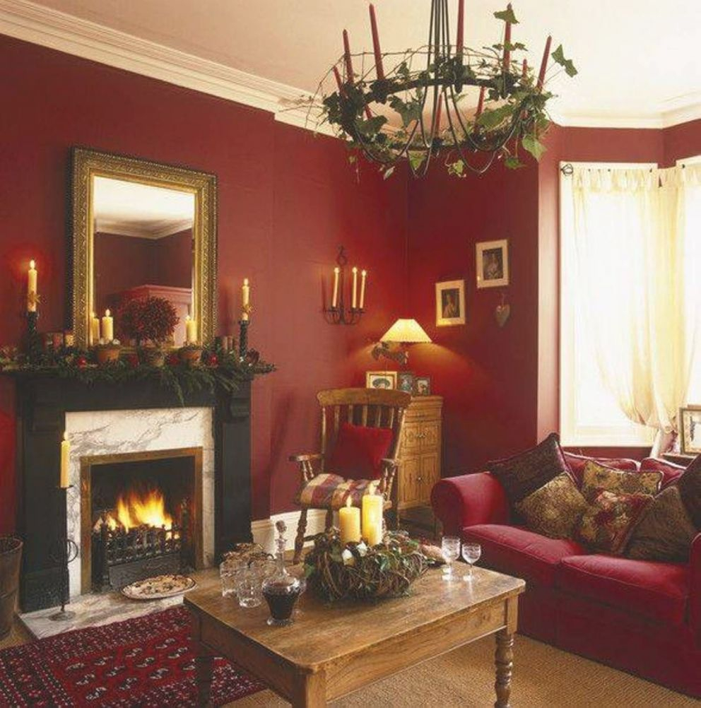 Red Gold Brown Color Scheme – Google Search | Red Living intended for Brown And Red Living Room