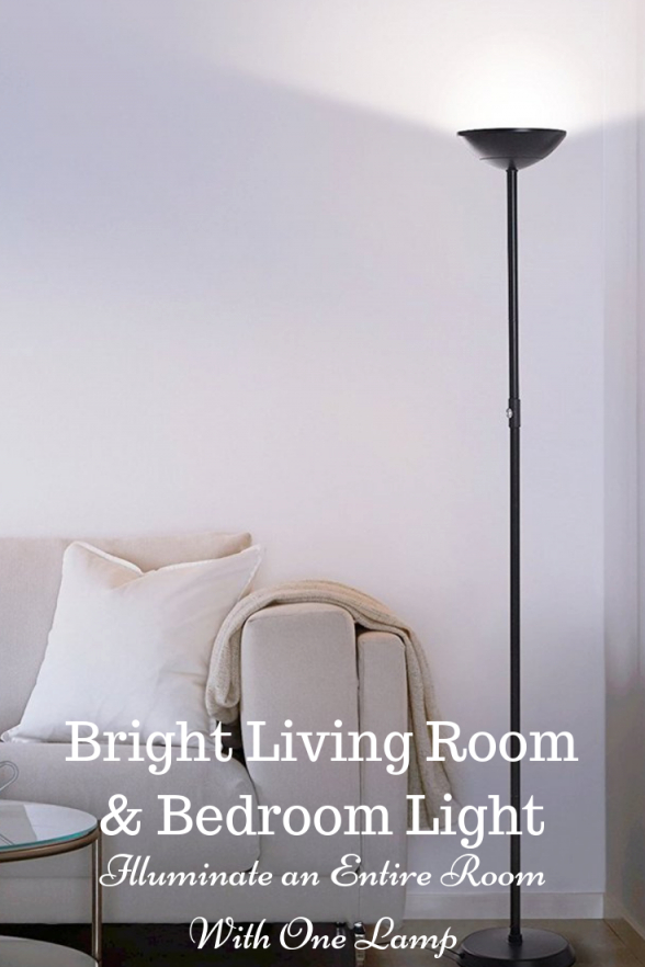 This Light Blazes Bright Enough To Be The Only Lighting within Bright Floor Lamp For Living Room