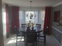This One Shows The Maroon Curtains And Perhaps Cherry Wood regarding 10+ Unique Gallery Burgundy Curtains For Living Room