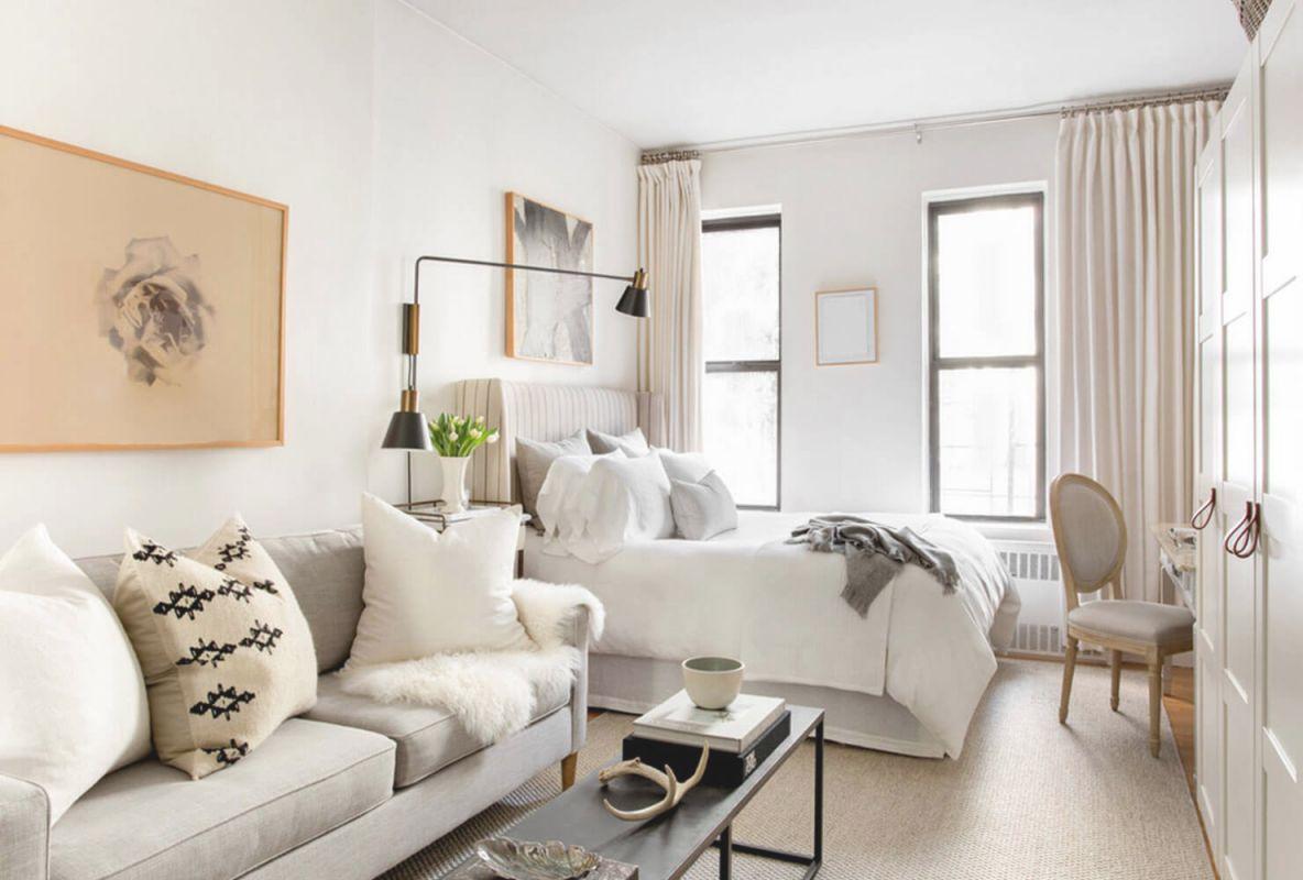 Tiny New York Apartments: 6 Tiny Studio Apartment Decorating with Apartment Living Room Design Ideas