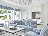 Too Much Blue But L Love The Black Accents , Very Modern with regard to 10+ Inspiration For Blue And White Living Room