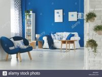 Trendy Blue And White Living Room Interior Design Stock for Blue And White Living Room