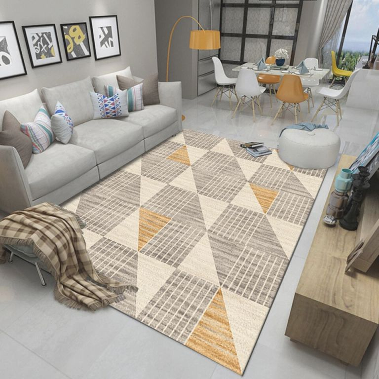 Us $24.35 42% Off|Vintage Classic Large Big Area Rugs Design Nordic Gree Sofa Blanket Geometric Carpet For Living Room Bedroom Rug|Carpet| – throughout Awesome Ideas For Big Area Rugs For Living Room