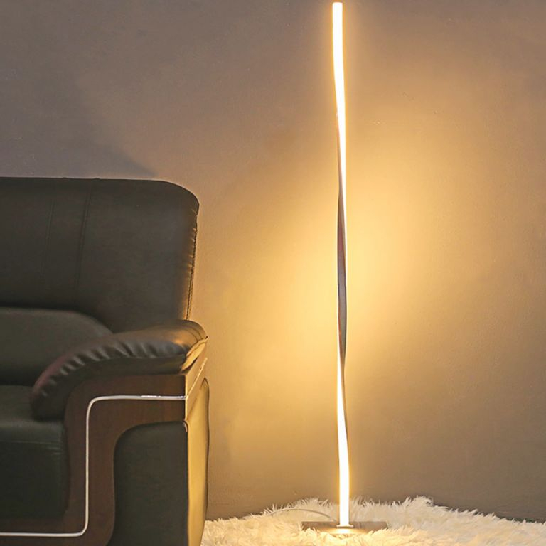 Us $86.4 20% Off|Modern Led Floor Lamp For Living Room Standing Pole Led Floor Light For Bedrooms Offices Bright Dimmable Table Lamp Indoor pertaining to 10+ Unique Gallery Bright Floor Lamp For Living Room