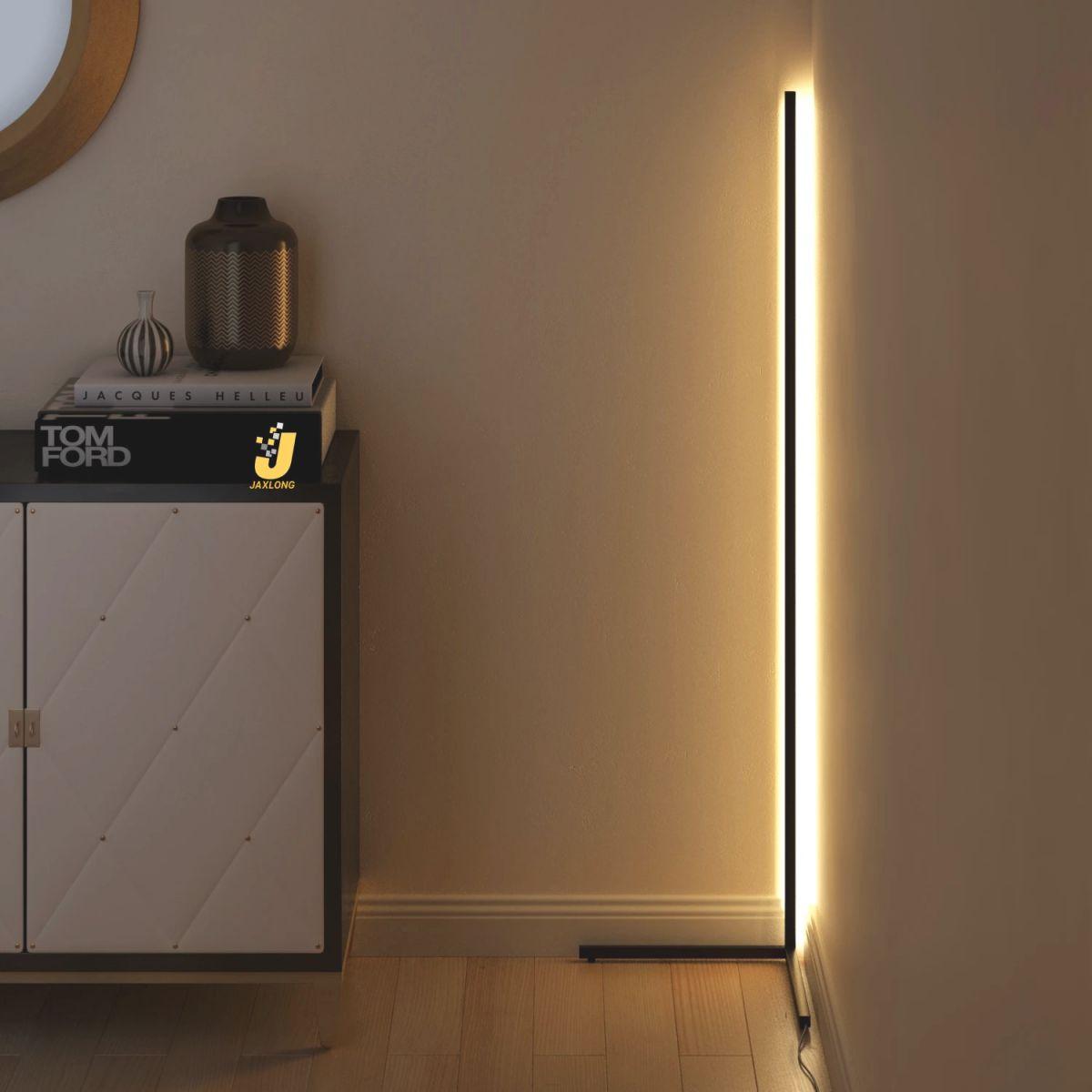 Us $89.0 20% Off|Nordic Creative Floor Lamps Corner Minimalist Floor Light Home Bright Light Bedroom Bedside Standing Lamp Living Room in 10+ Unique Gallery Bright Floor Lamp For Living Room