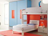 blue-orange-bed-room