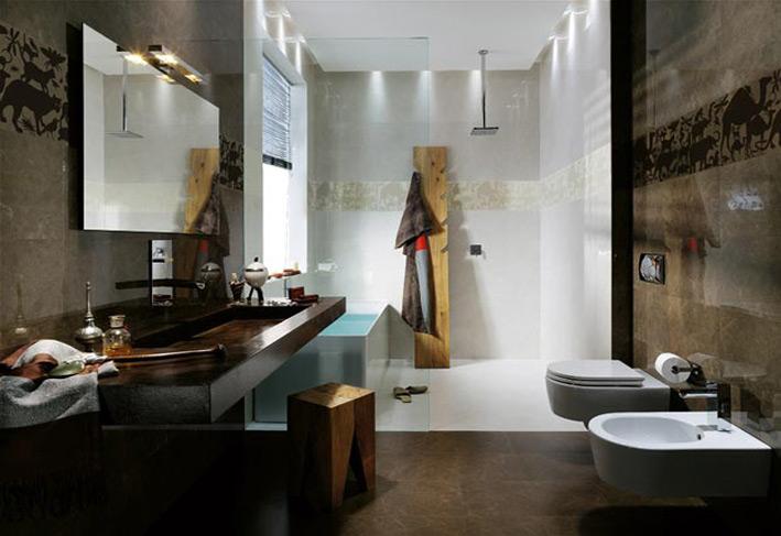 Animal-tile-border-bathroom-design