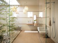 Bathroom-courtyard