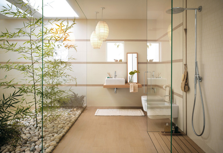 Bathroom-courtyard