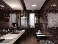 Black-mosaic-tiles-maculine-bathroom-ideas