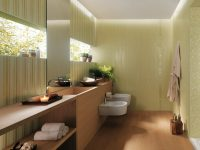 Cream-white-modern-bathroom