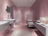 Floral-metallic-bathroom-mosaic-tiles