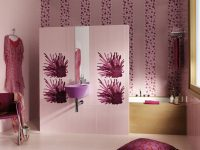 Purple-sink-white-floral-bathroom