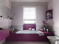 Purple-white-feminine-bathroom-design
