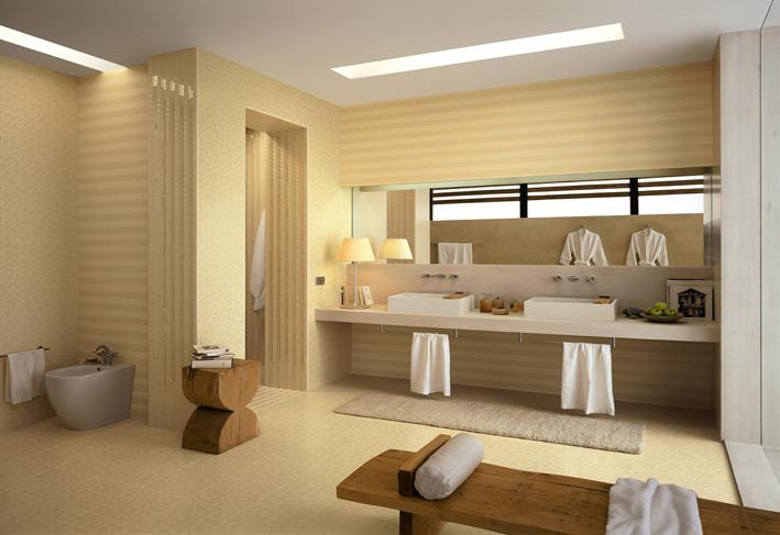 Striped-cream-bathroom-tiles