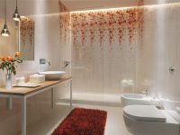 White-floral-bathroom-tile-design
