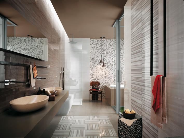 White-gray-stripe-bathroom-tiles
