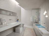 White-stripe-bathroom-tiles