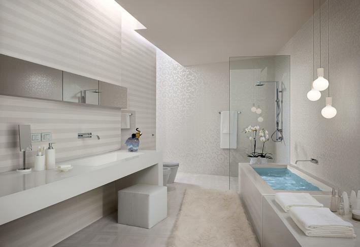 White-stripe-bathroom-tiles