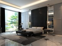 bedroom-feature-wall-black