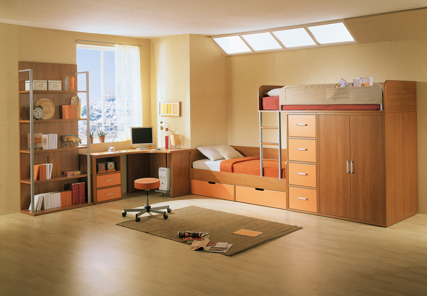 kids-study-room-skylight