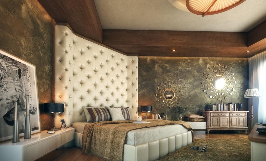 oversized-cushioned-headboard-luxurious-bedroom