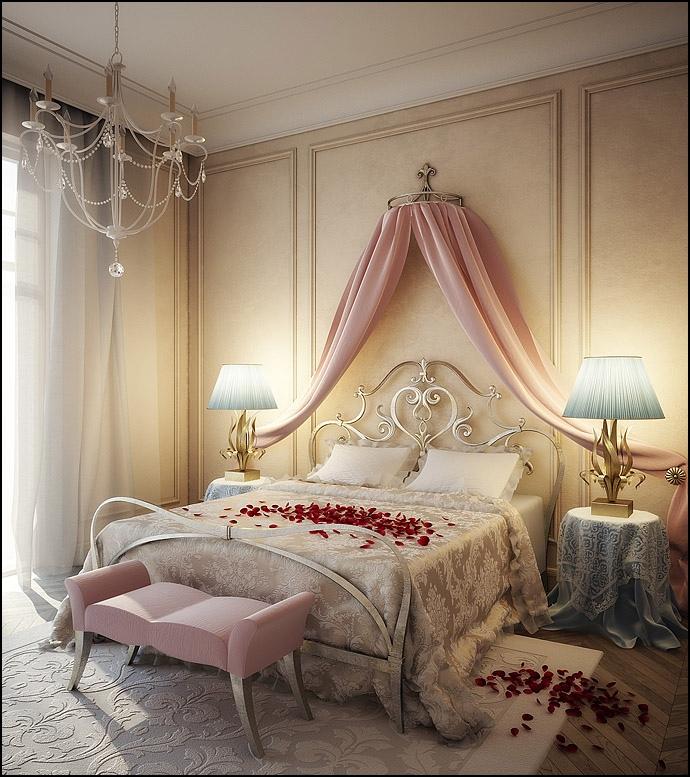 romantic-pink-blue-cream-bedroom-design-1