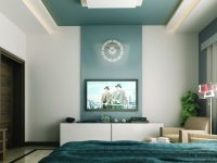 teal-white-tv-entertainment-unit