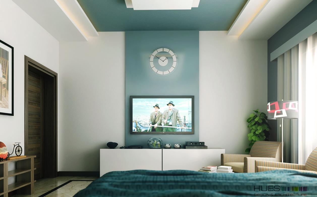 teal-white-tv-entertainment-unit