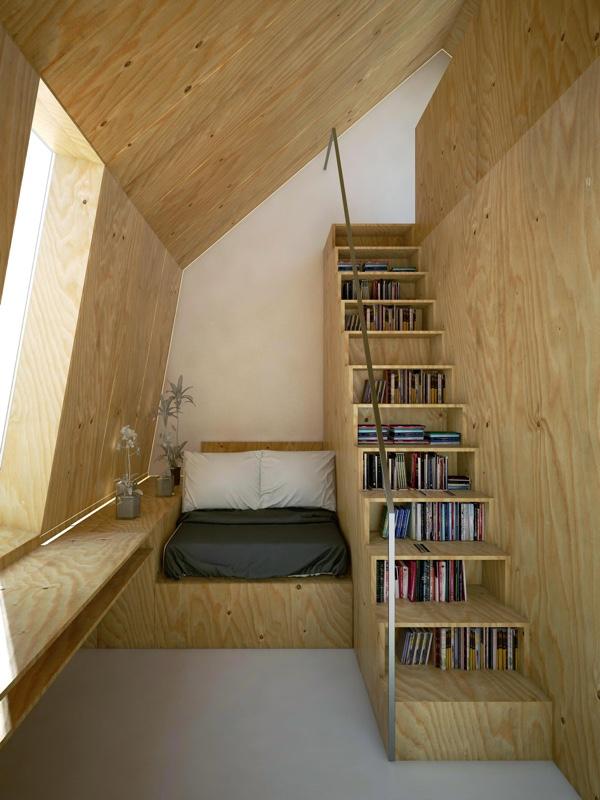 bedroom-stair-step-bookcase