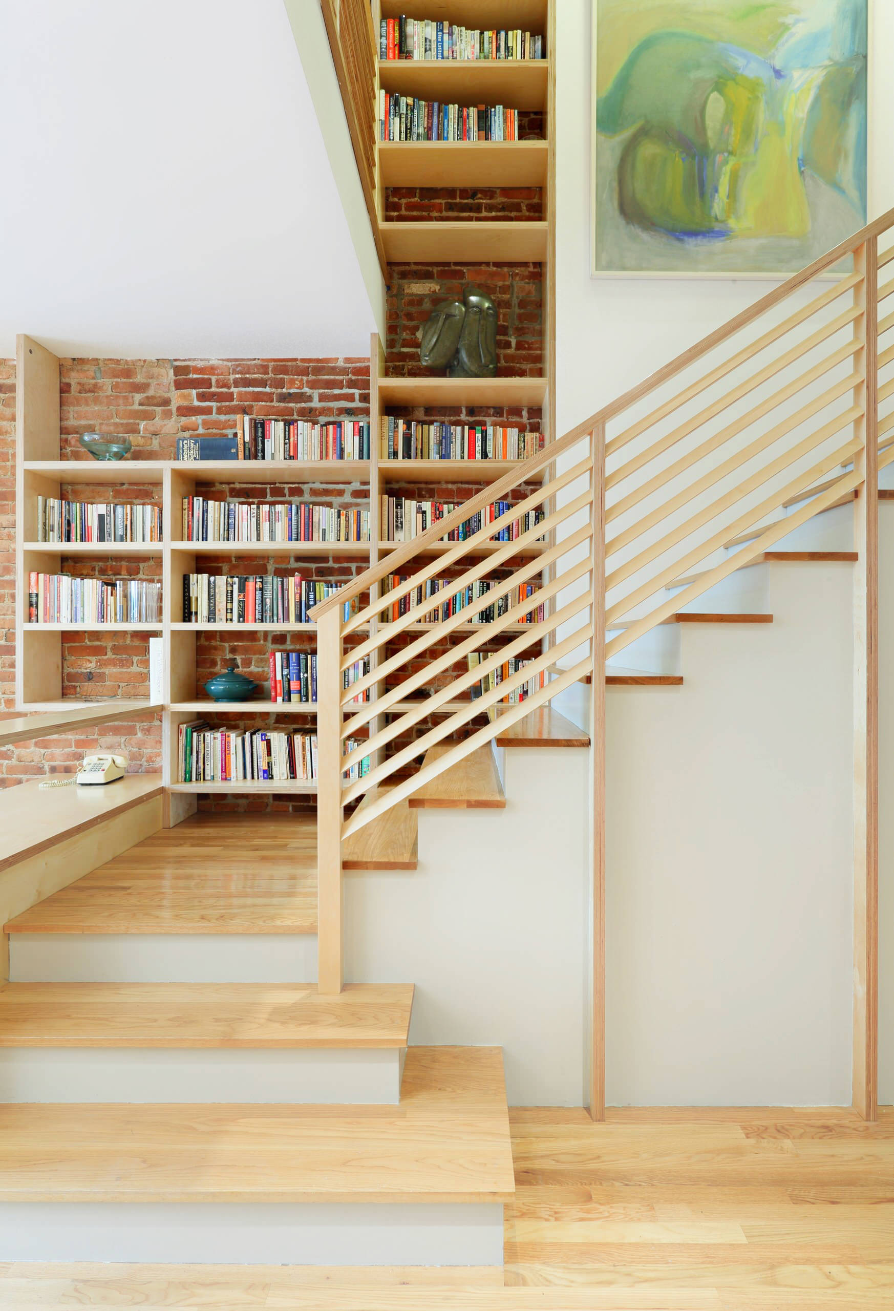 brick-and-wood-stair-shelves