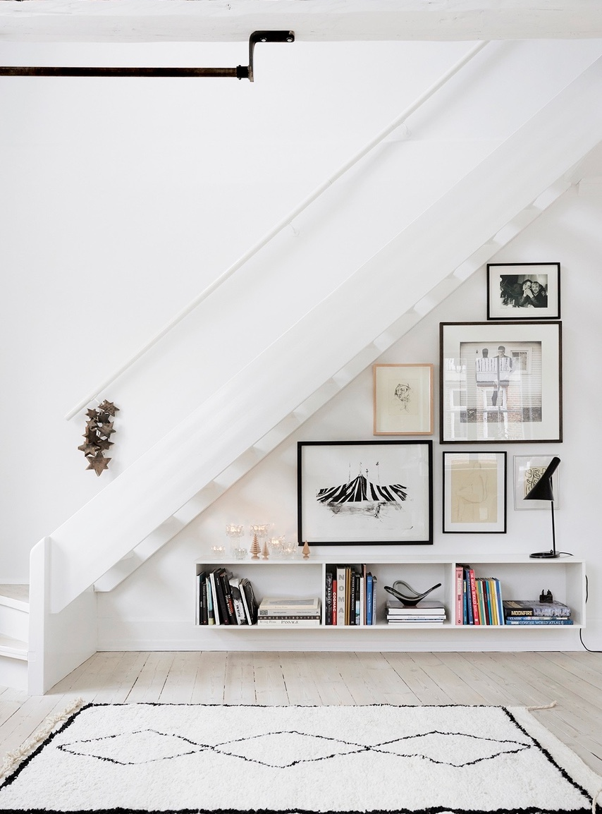 contemporary-white-under-stairs-storage-unit