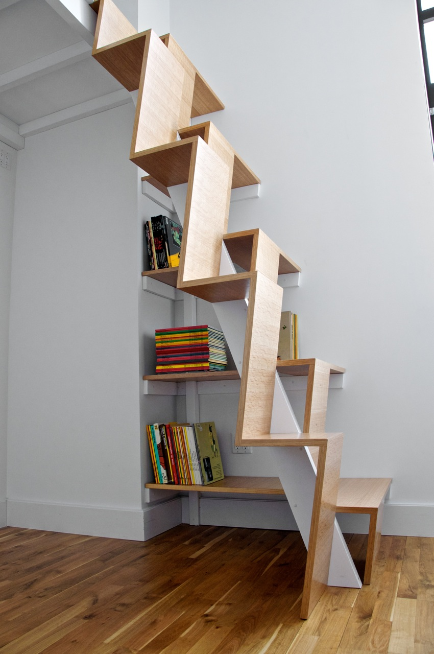 steep-wooden-ideas-for-stairs