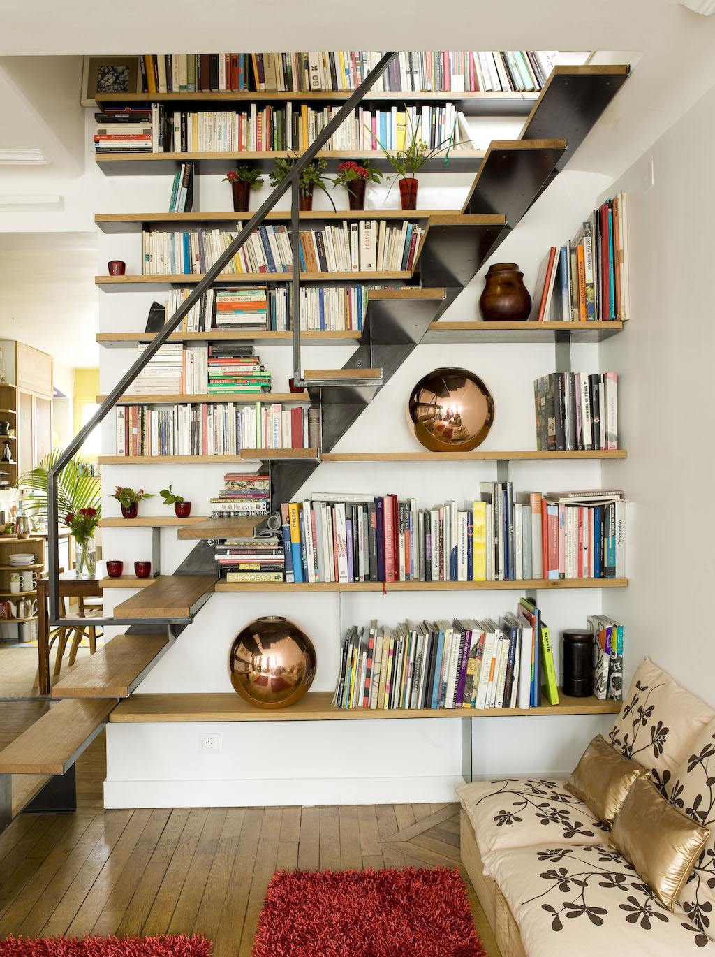 wood-and-iron-under-stairs-shelves