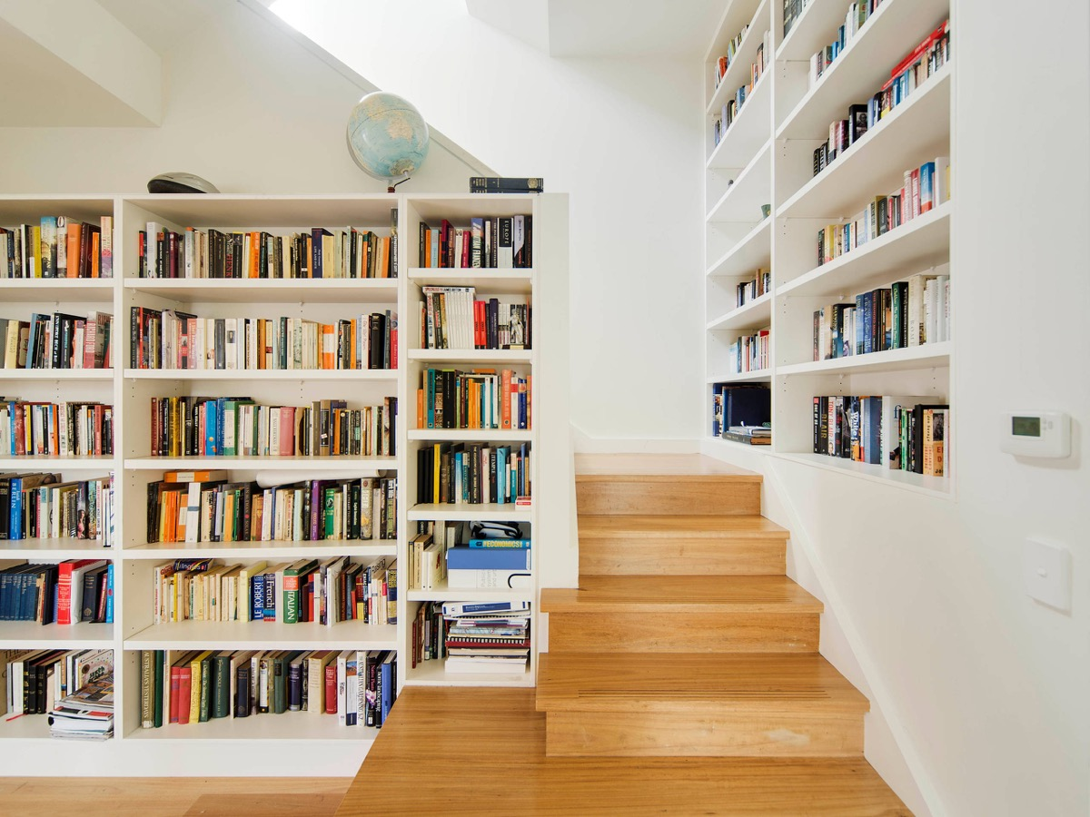 wood-with-two-lined-library-walls-stair-bookcase