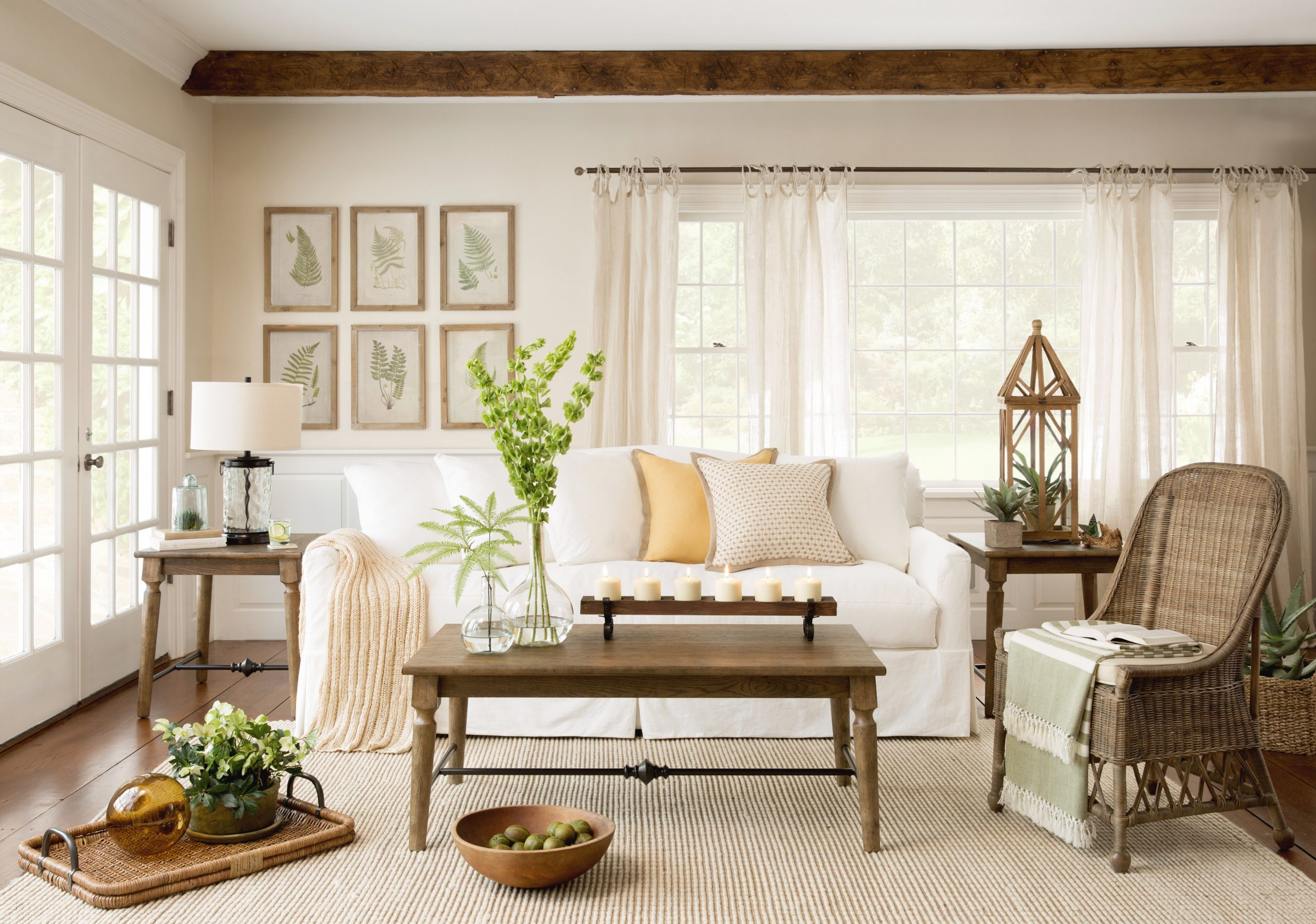 14 Curtain Ideas For Every Room In Your Home | Wayfair with Curtain Styles For Living Rooms