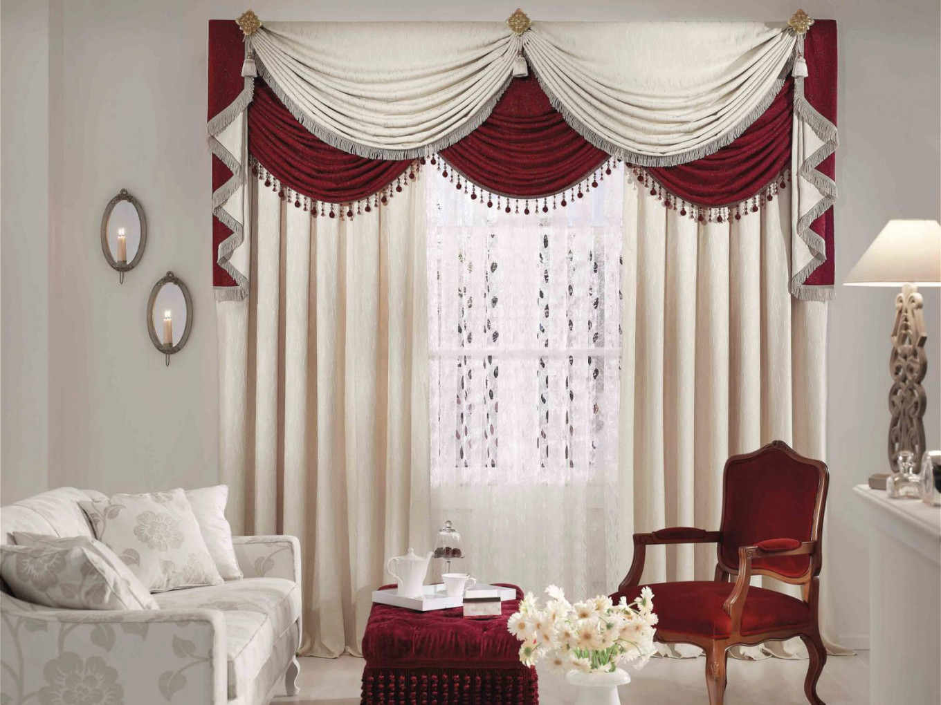 25 Cool Living Room Curtain Ideas For Your Farmhouse in Ideas Gallery For Curtain Styles For Living Rooms