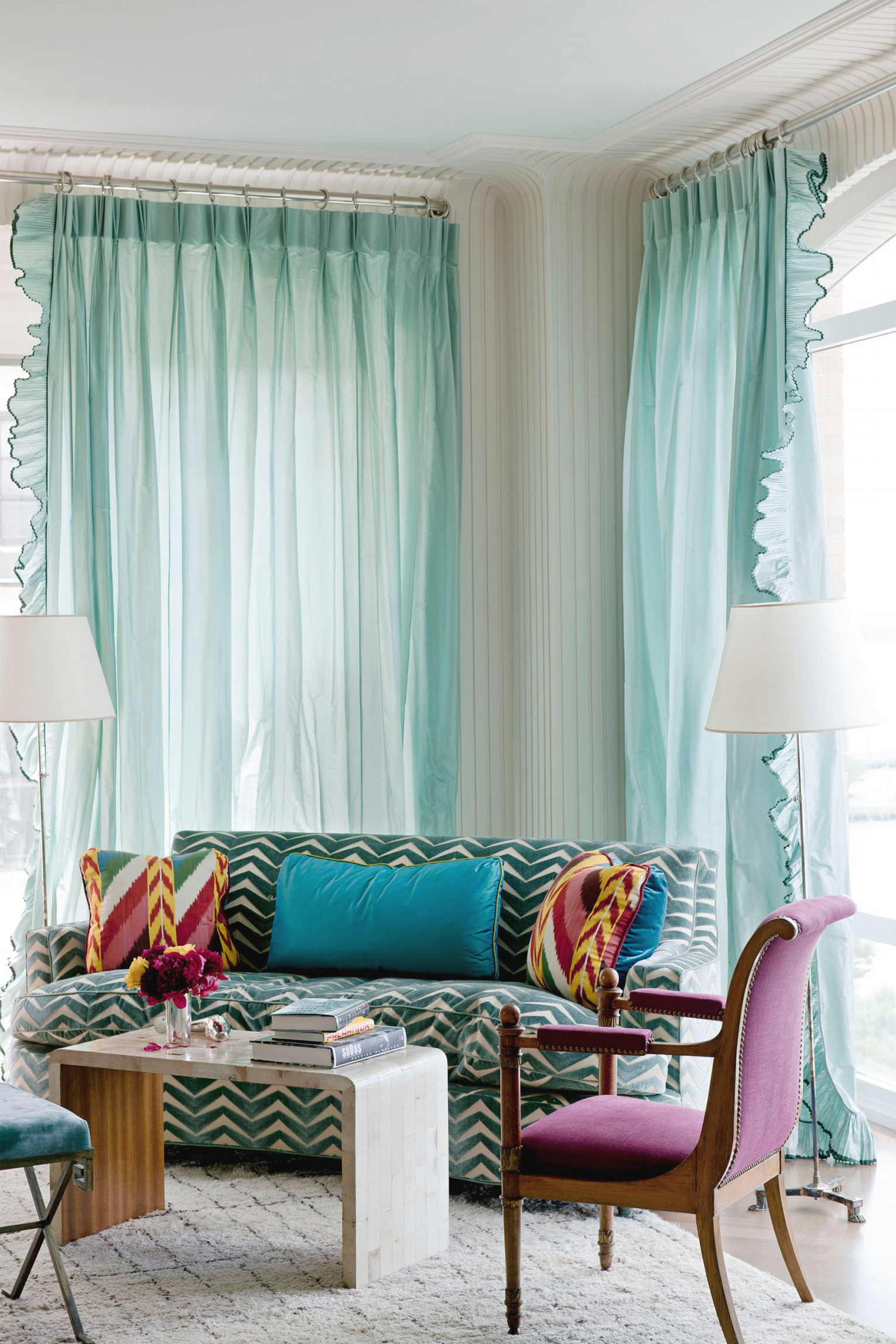 43 Best Window Treatment Ideas - Window Coverings, Curtains inside Curtain Styles For Living Rooms
