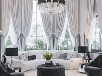44 Beautiful Home Curtain Ideas For Your Interior Design To for Fancy Curtains For Living Room
