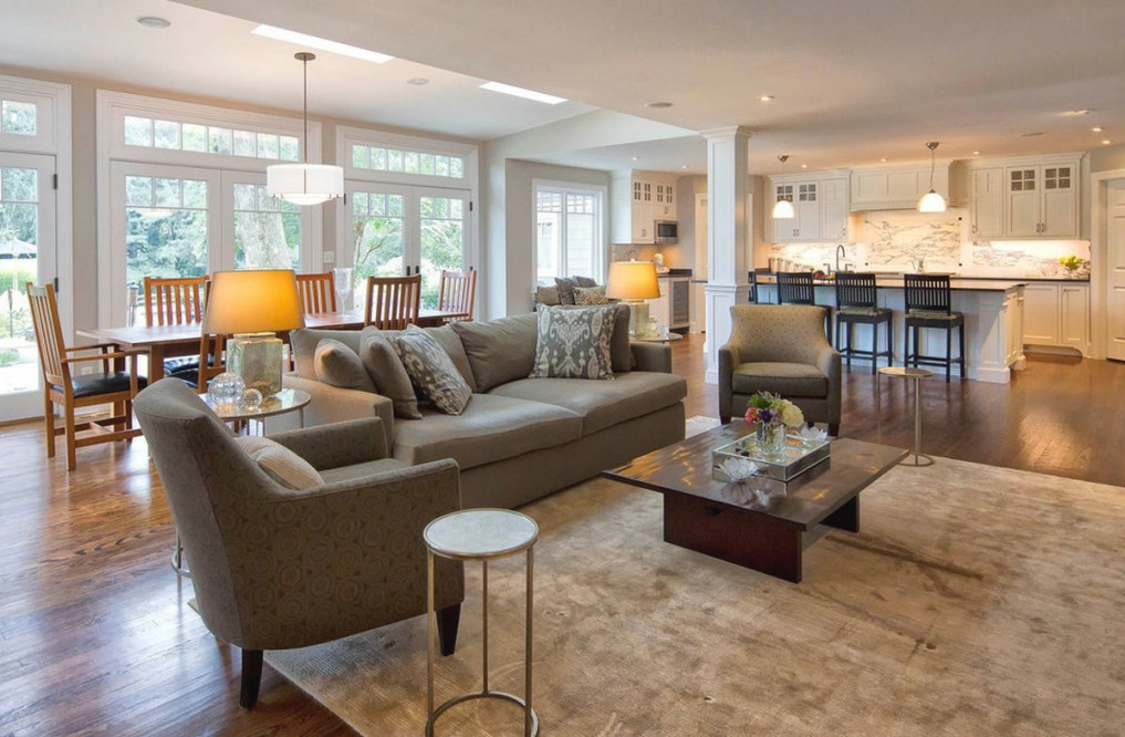 5 Tips For Choosing The Perfect Home Floor Plan | Open intended for Open Kitchen Living Room Design