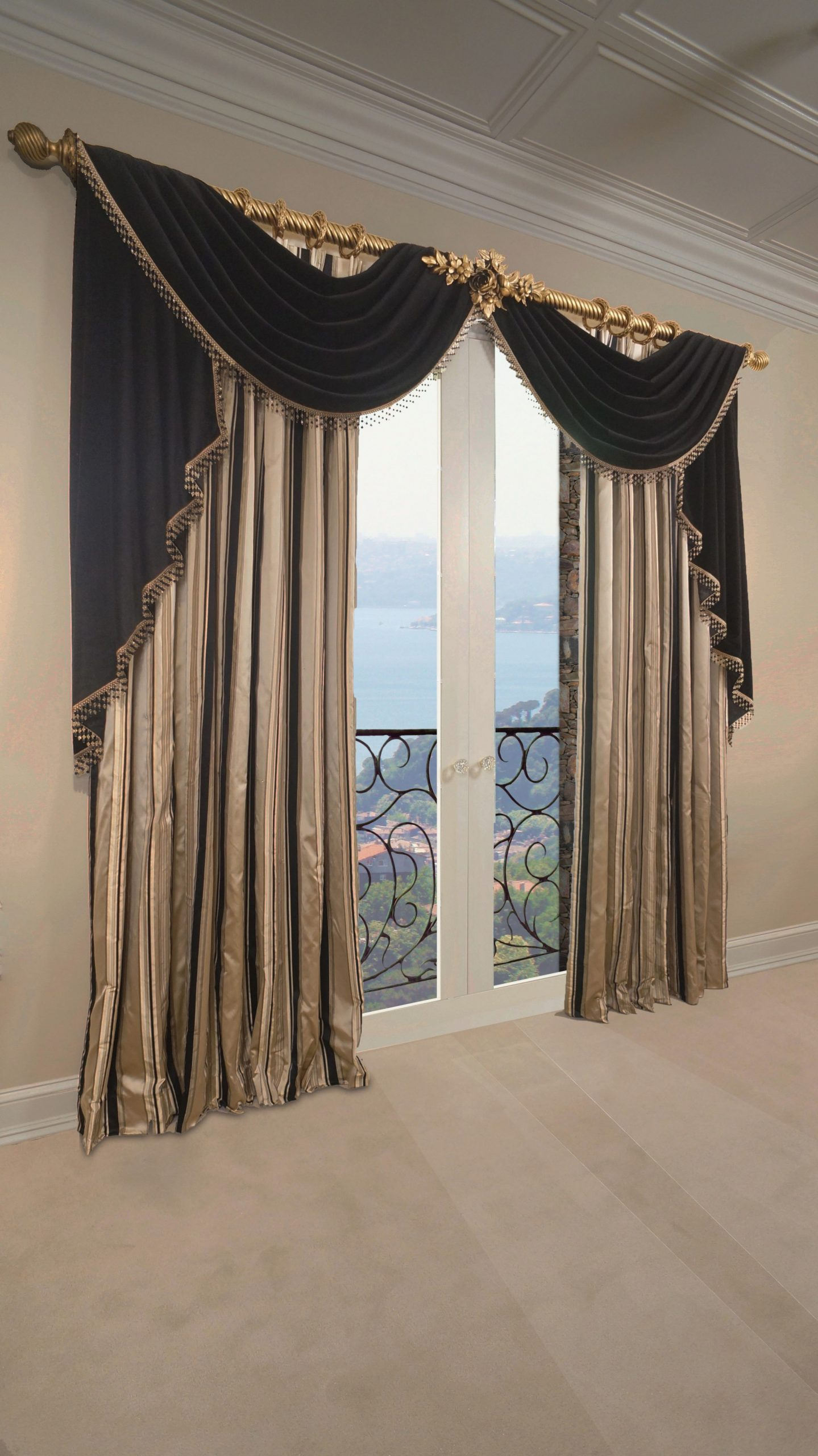 Beautiful, Elegant Formal Living Room Drapery Madetracy intended for 13+ Unique Ideas For Fancy Curtains For Living Room