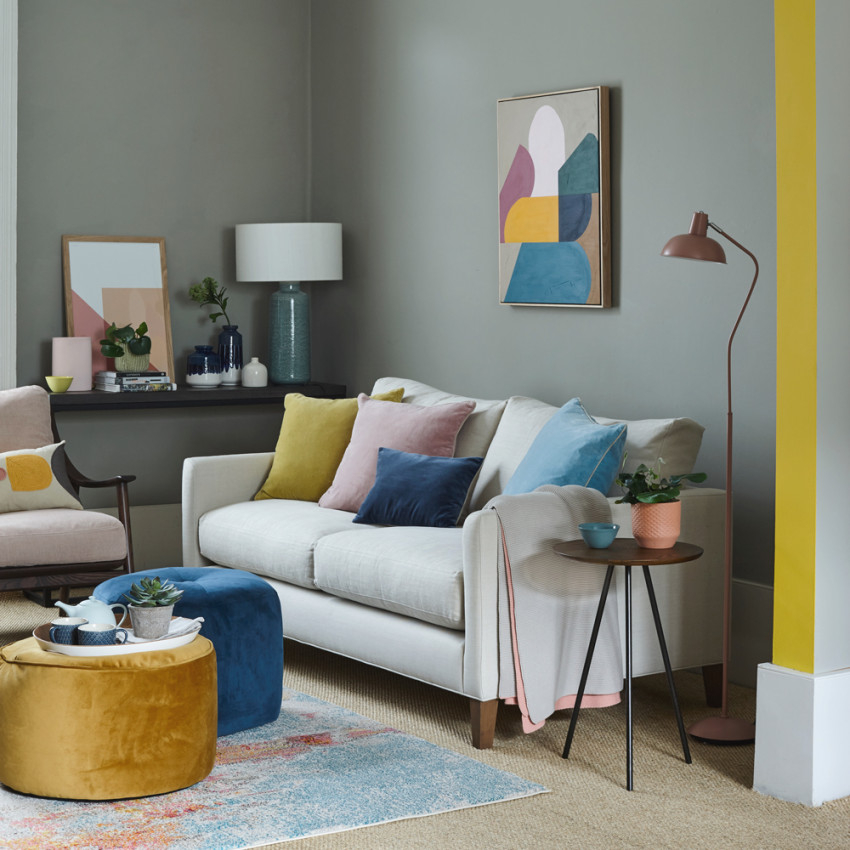 Clever Living Room Paint Ideas To Transform Any Space within Paint Colors For Small Living Rooms