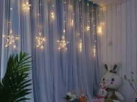 Custom Made Moden Blackout Curtain+Voile Sheer Tulle Curtains For Living Room Bedroom Curtain Window Curtains Drapes Panels in Living Room Curtains And Drapes
