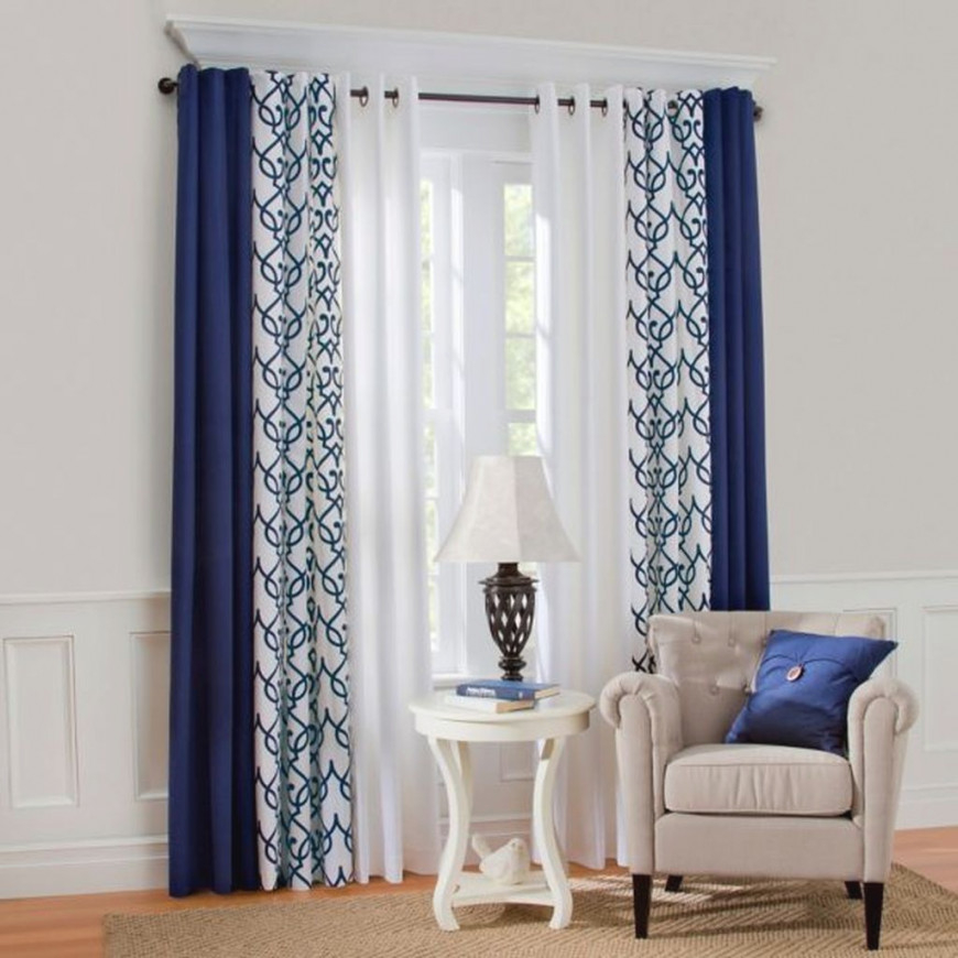 Decoomo – Trends Home Decoration Ideas | Curtains Living within Ideas Gallery For Curtain Styles For Living Rooms