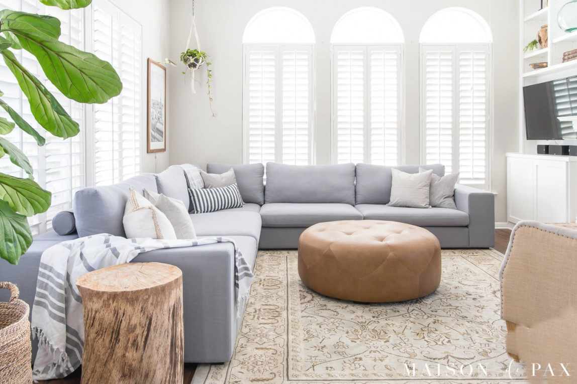 Designing A Small Living Room With A Large Sectional throughout 13+ Beautiful Ideas For Sectional For Small Living Room