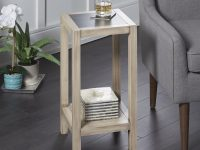 Hummel Wood Square Small End Table pertaining to Small End Tables Living Room