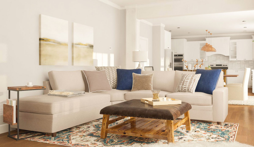 Layout Guide: Designing A Long Open, Living/Dining Room throughout Beautiful Gallery Living And Dining Room Ideas