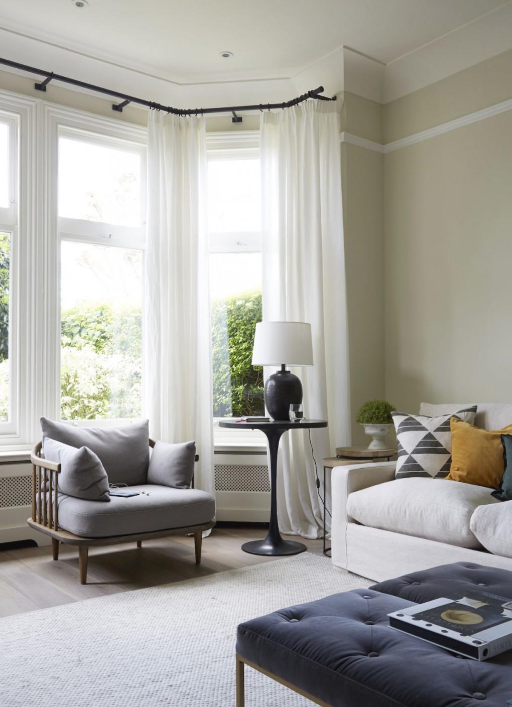 Living Room Curtain Ideas: 20 Stylish Curtain Styles For within Ideas Gallery For Curtain Styles For Living Rooms