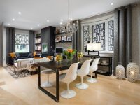Living Room/Dining Room Makeover: From Gutted To Gorgeous | Hgtv with Living And Dining Room Ideas